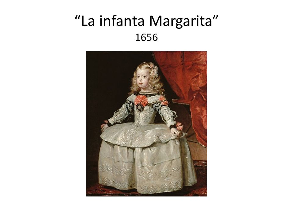 La infanta Margarita 1656