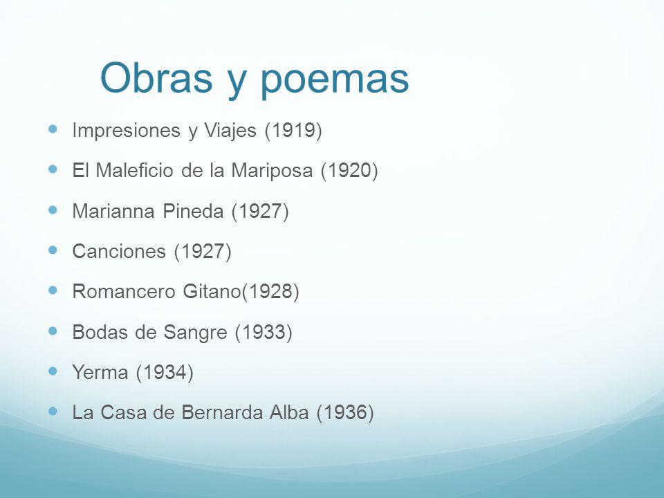 Obras y poemas Impresiones y Viajes (1919)