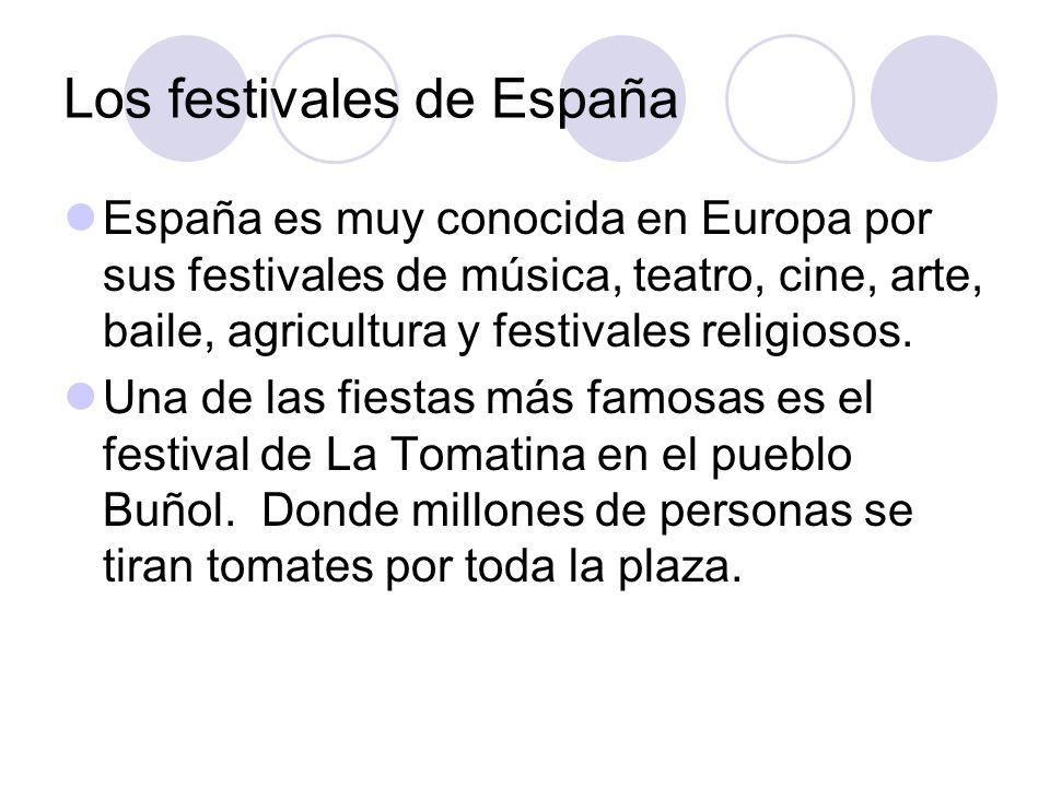 Los festivales de España