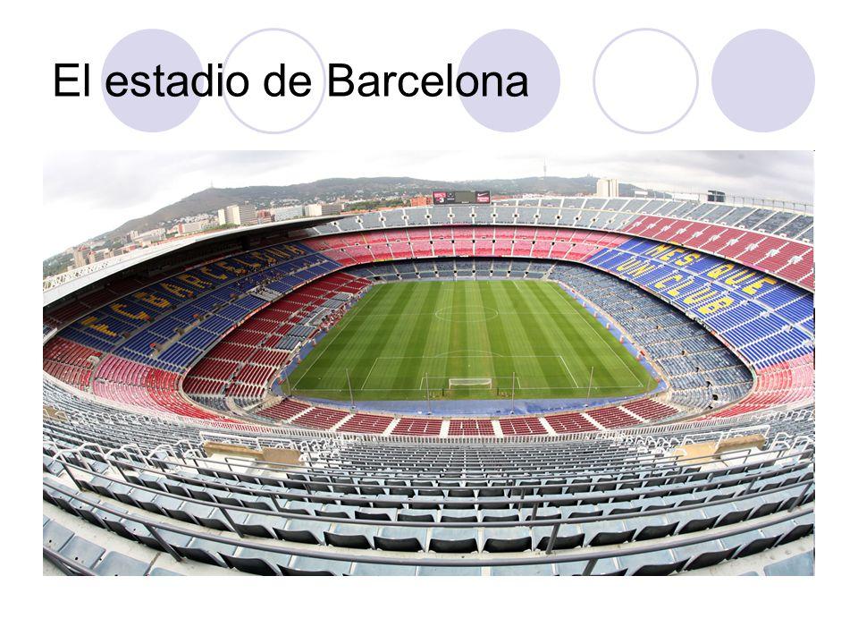 El estadio de Barcelona