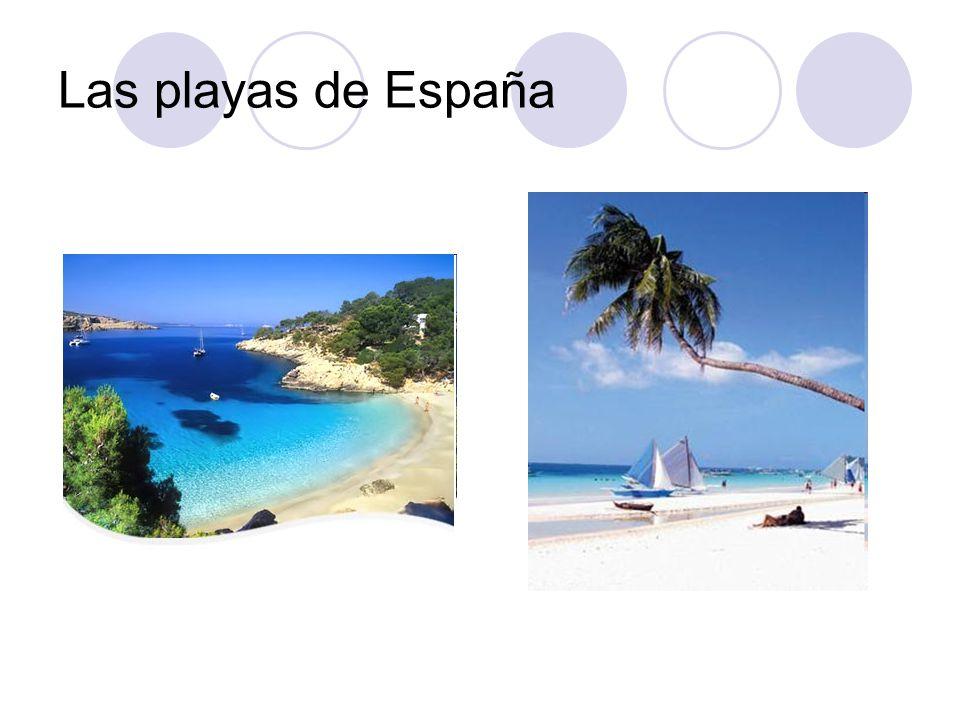 Las playas de España