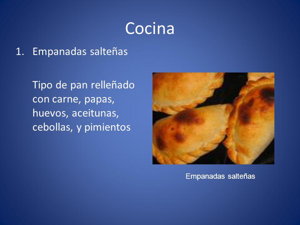 Cocina Empanadas salteñas