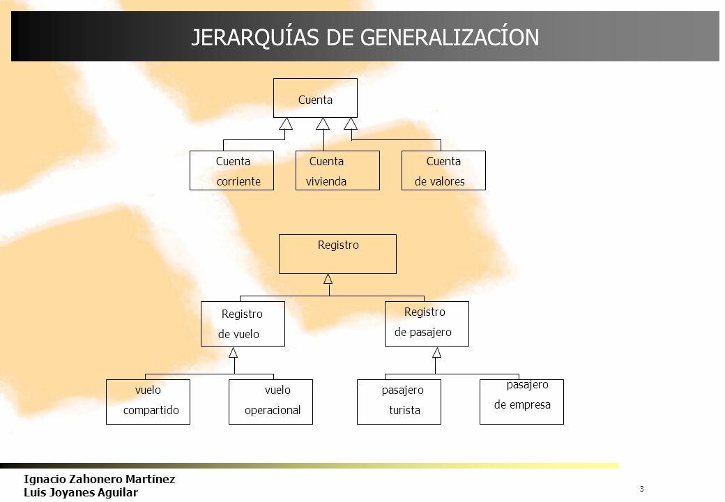 JERARQUÍAS DE GENERALIZACÍON