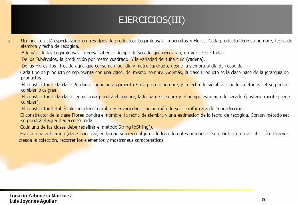 EJERCICIOS(III)
