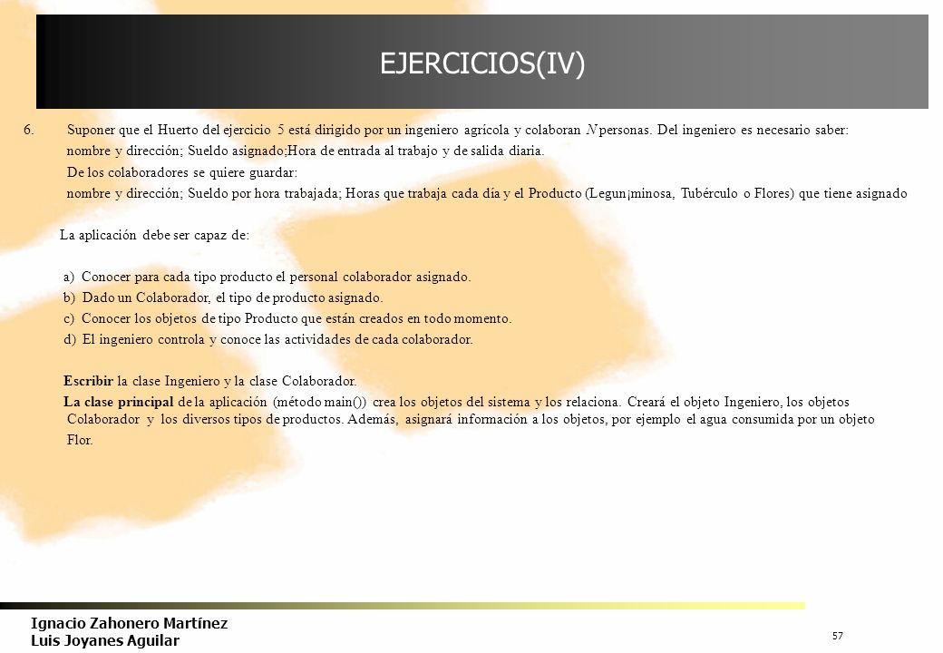 EJERCICIOS(IV)