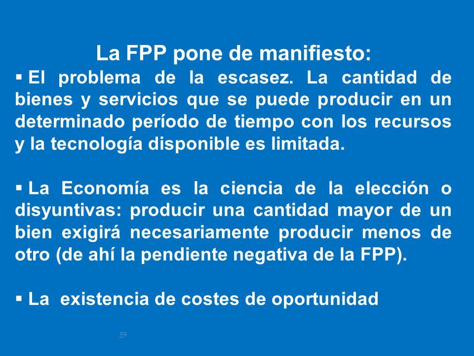 La FPP pone de manifiesto: