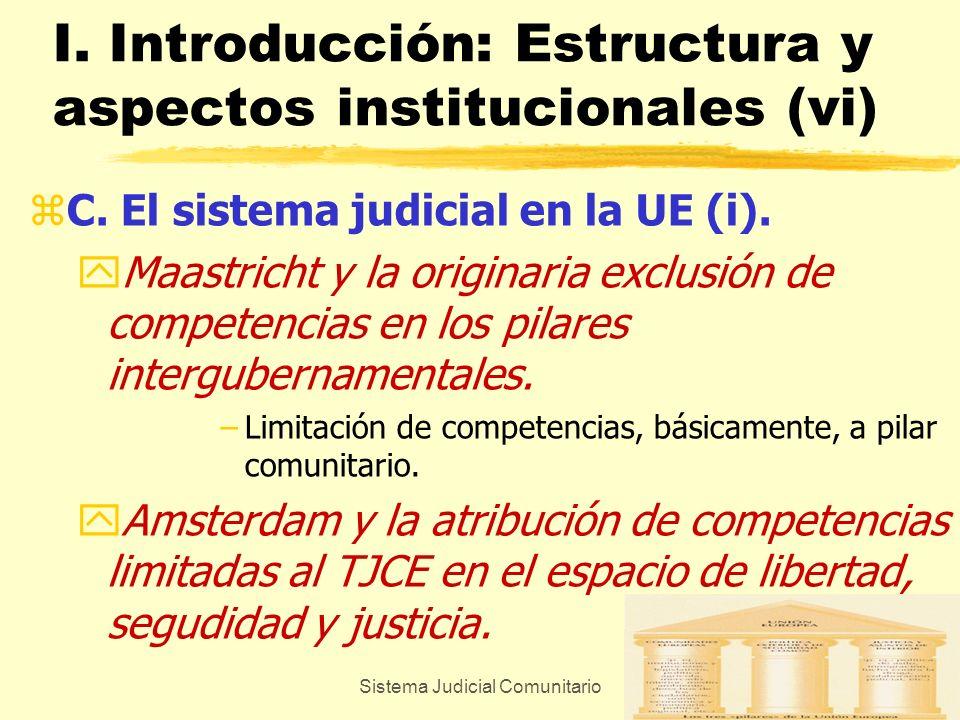 I. Introducción: Estructura y aspectos institucionales (vi)