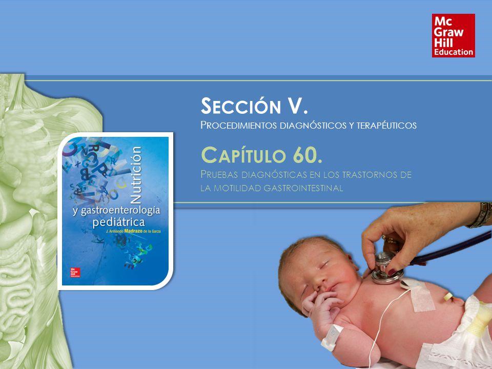 Sección V. Capítulo 60. Procedimientos diagnósticos y terapéuticos