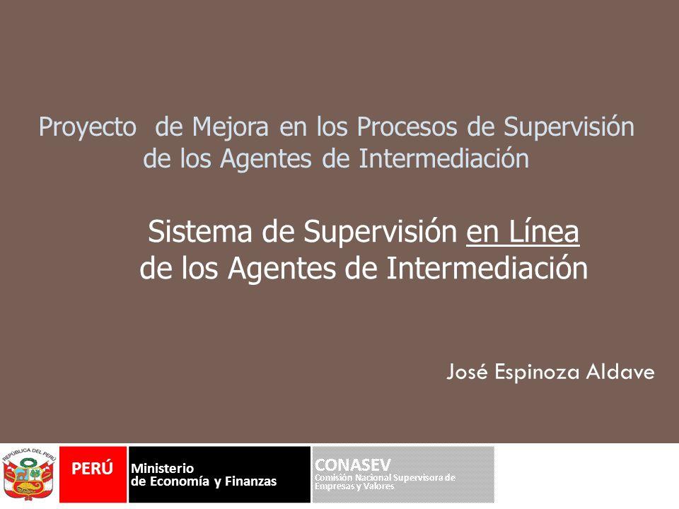 Sistema de Supervisión en Línea de los Agentes de Intermediación