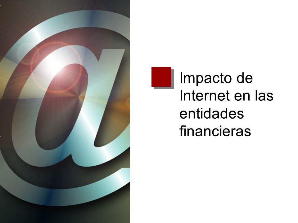 Impacto de Internet en las entidades financieras