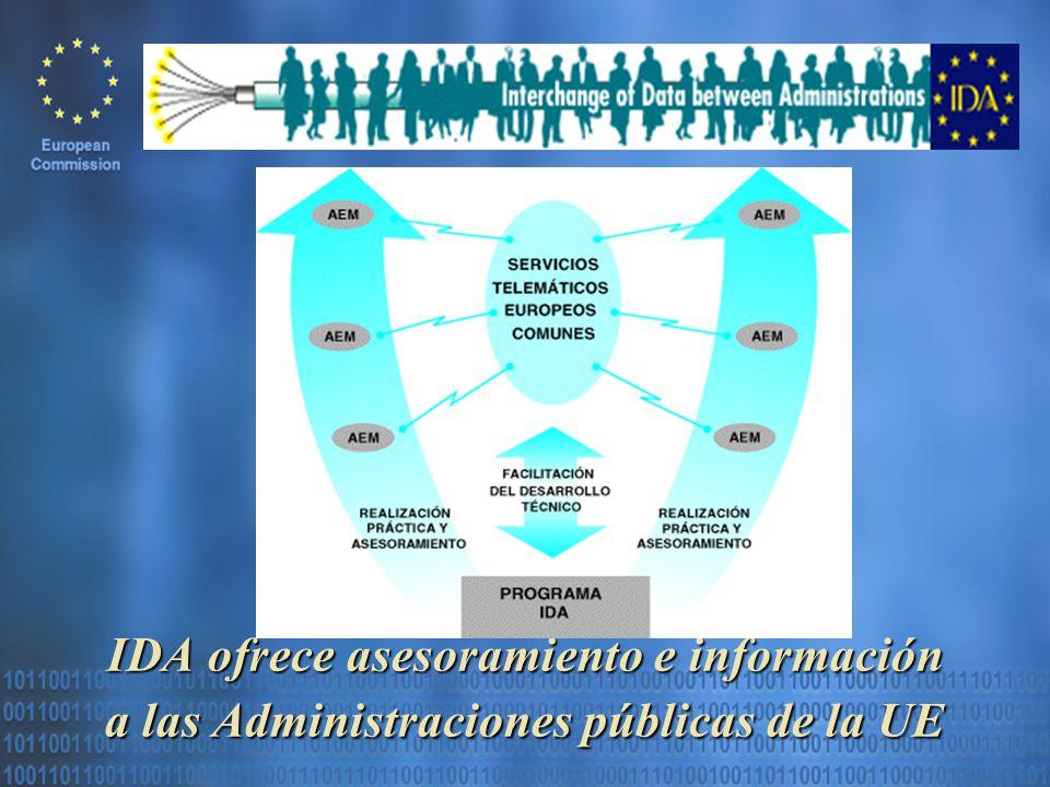IDA ofrece asesoramiento e información a las Administraciones públicas de la UE