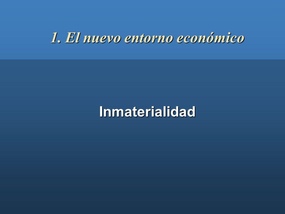 1. El nuevo entorno económico