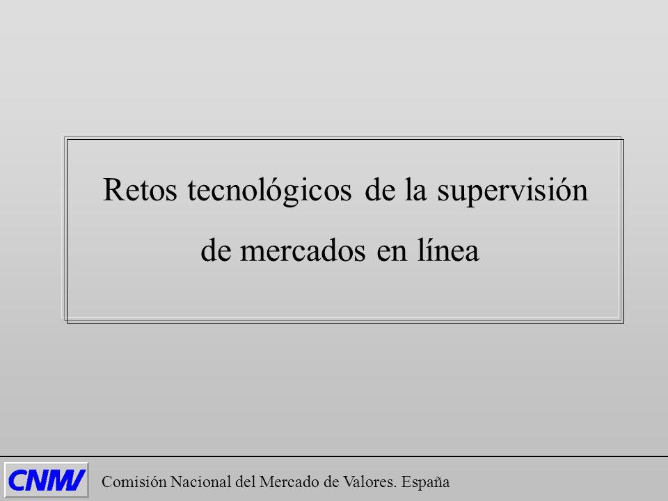 Retos tecnológicos de la supervisión