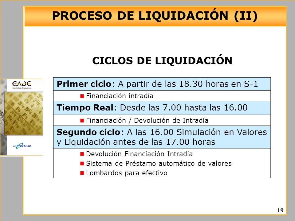 PROCESO DE LIQUIDACIÓN (II)