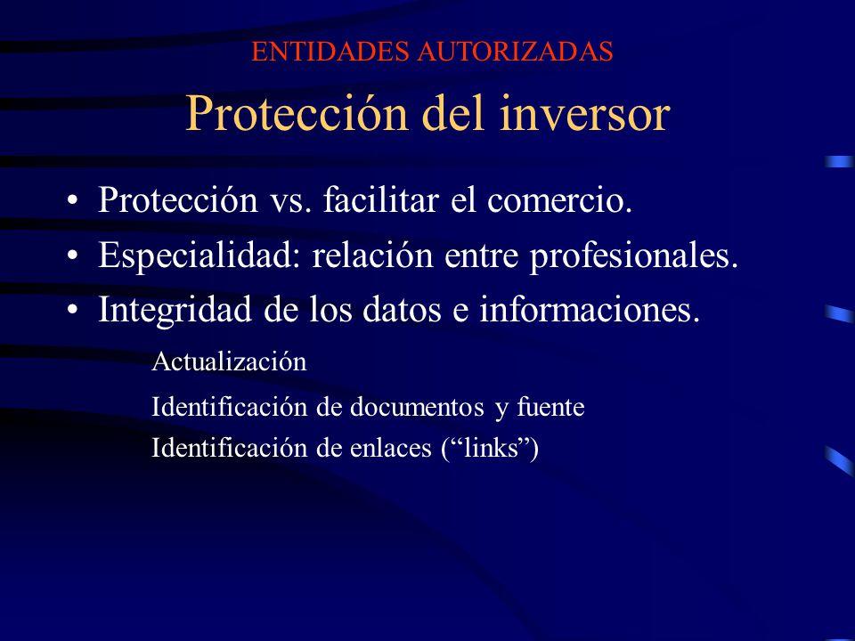 Protección del inversor