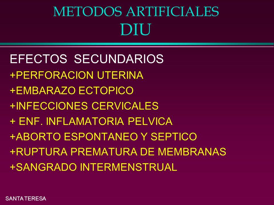METODOS ARTIFICIALES DIU
