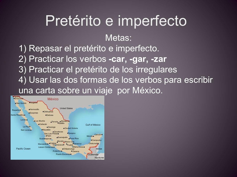 Pretérito e imperfecto