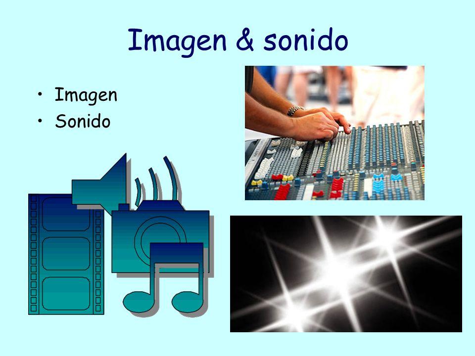 Imagen & sonido Imagen Sonido