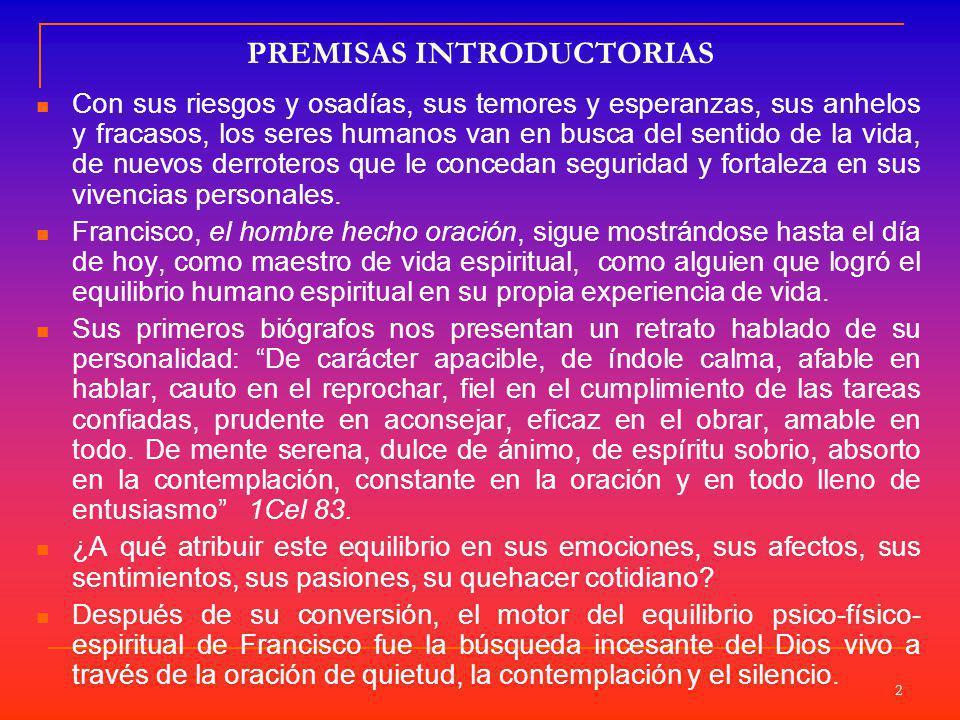 PREMISAS INTRODUCTORIAS