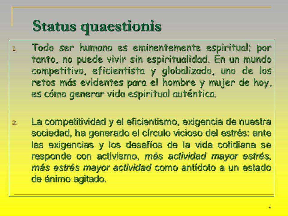 Status quaestionis