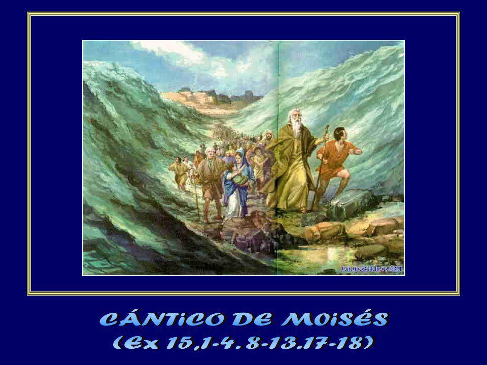 CÁNTiCO DE M0iSÉS (Ex 15,1-4. 8-13.17-18)