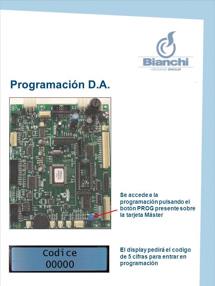 Programación D.A. Codice 00000