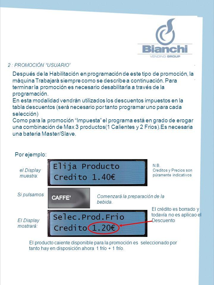 Elija Producto Credito 1.40€