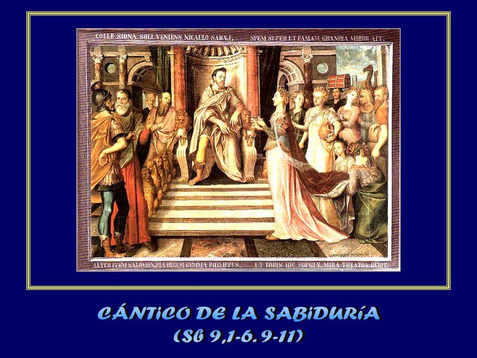 CÁNTiCO DE LA SABiDURíA