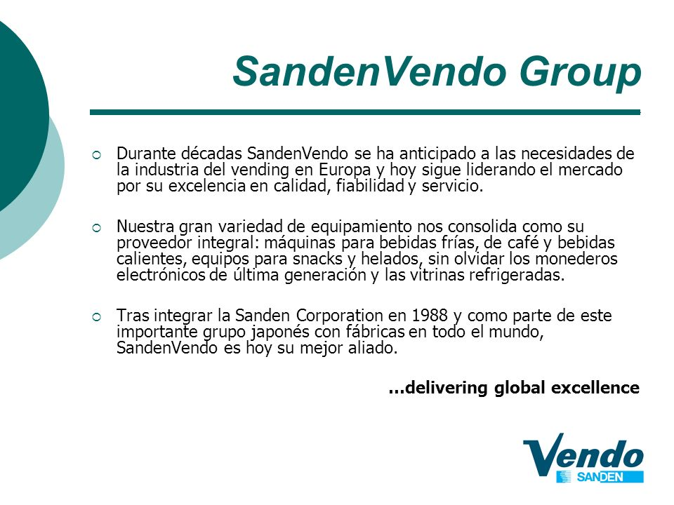 SandenVendo Group