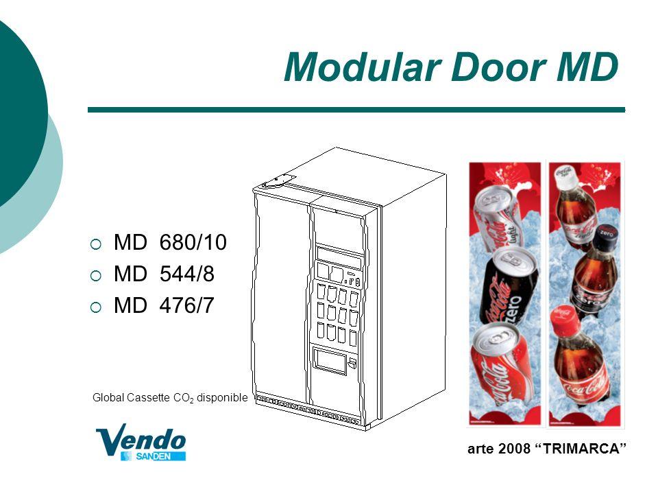 Modular Door MD MD 680/10 MD 544/8 MD 476/7 arte 2008 TRIMARCA