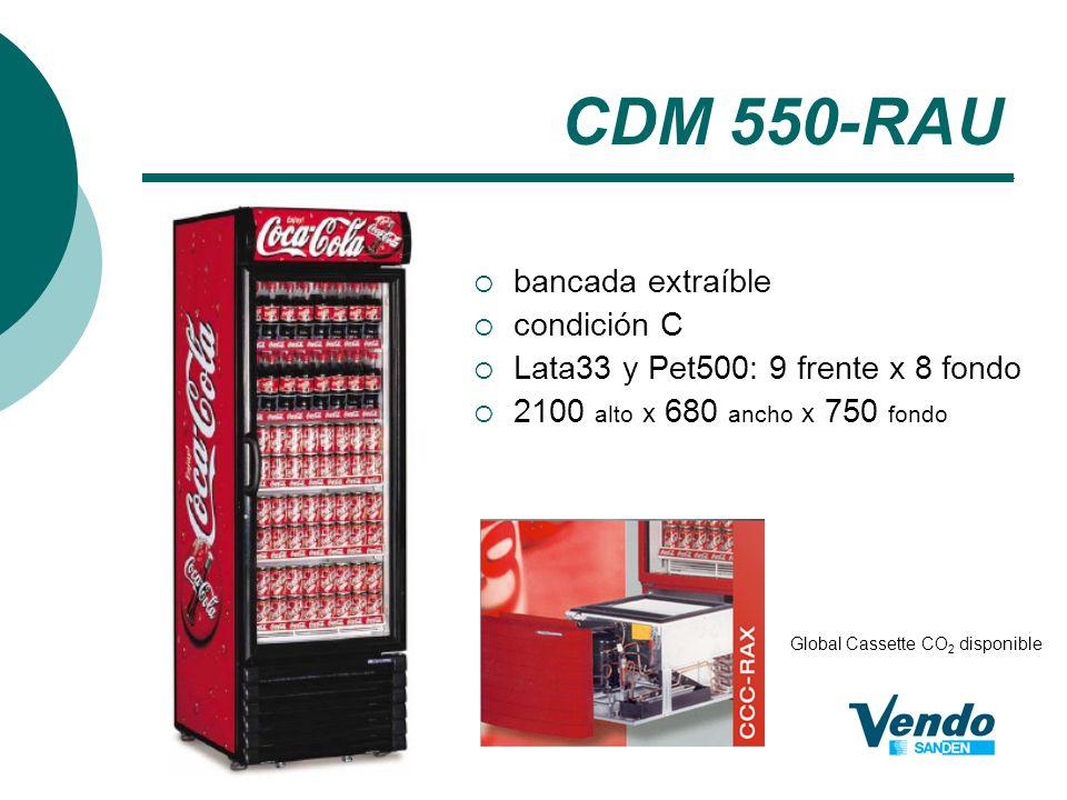 CDM 550-RAU bancada extraíble condición C