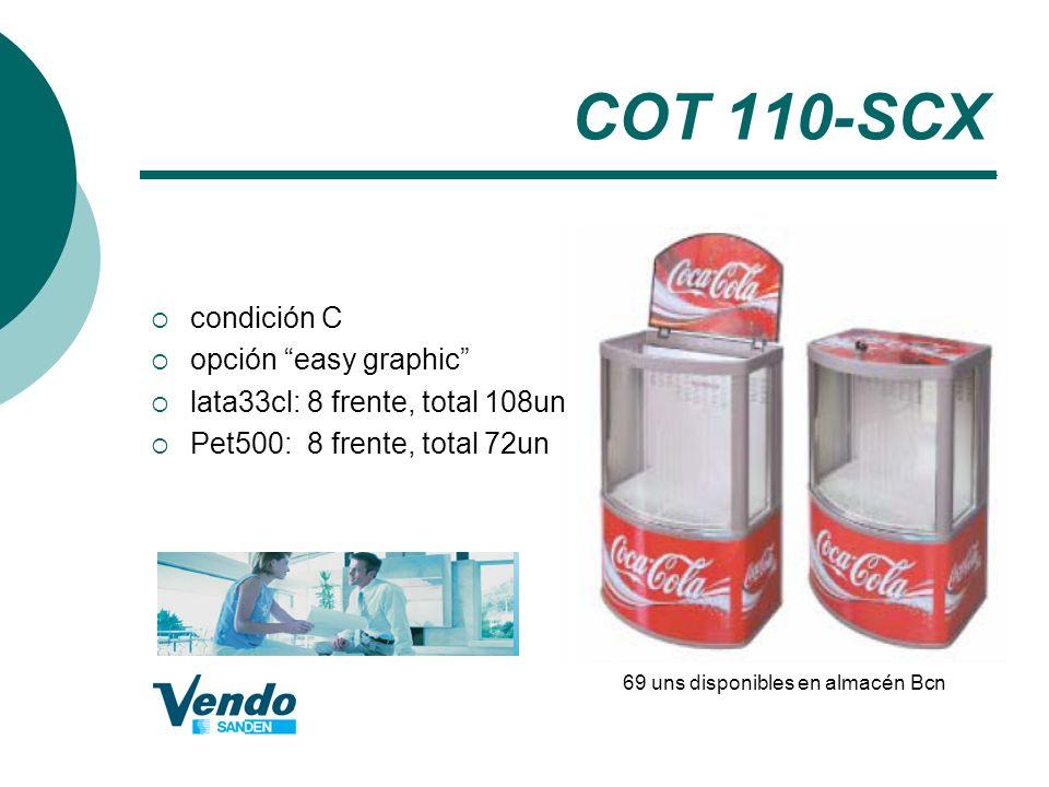 COT 110-SCX condición C opción easy graphic