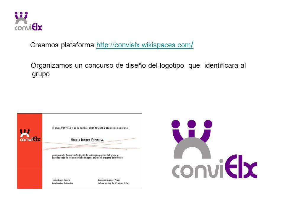 Creamos plataforma http://convielx.wikispaces.com/