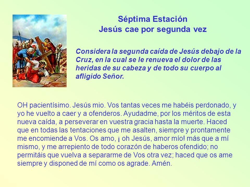 Jesús cae por segunda vez