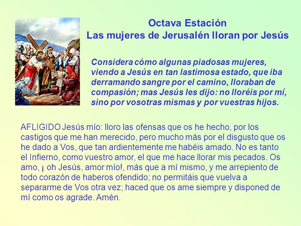 Las mujeres de Jerusalén lloran por Jesús