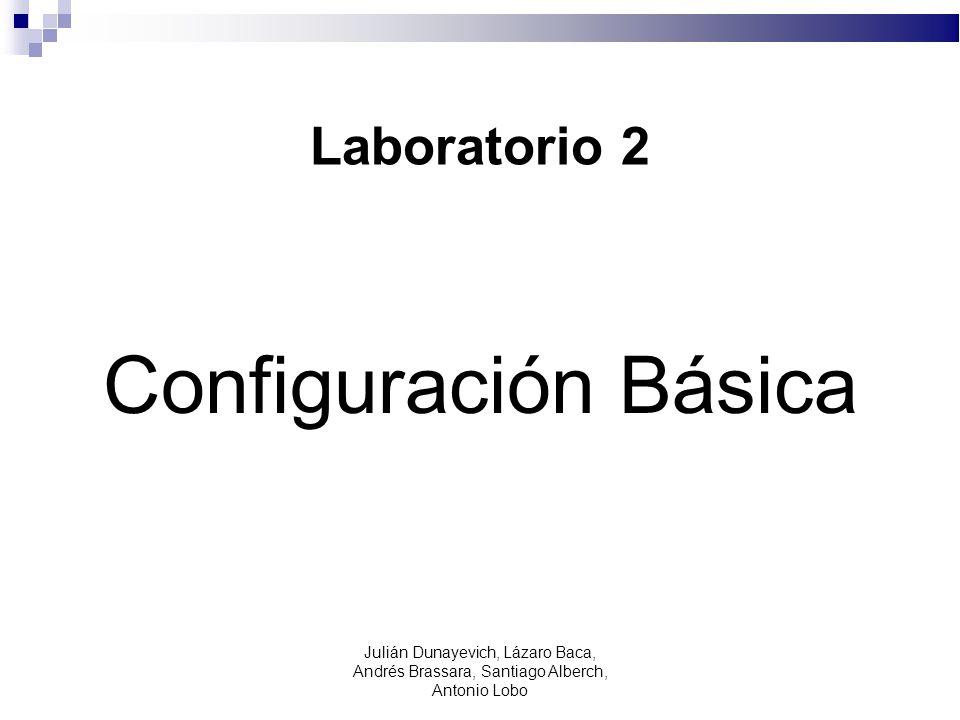 Configuración Básica Laboratorio 2