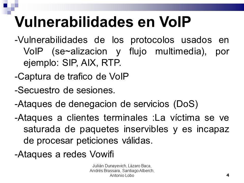 Vulnerabilidades en VoIP