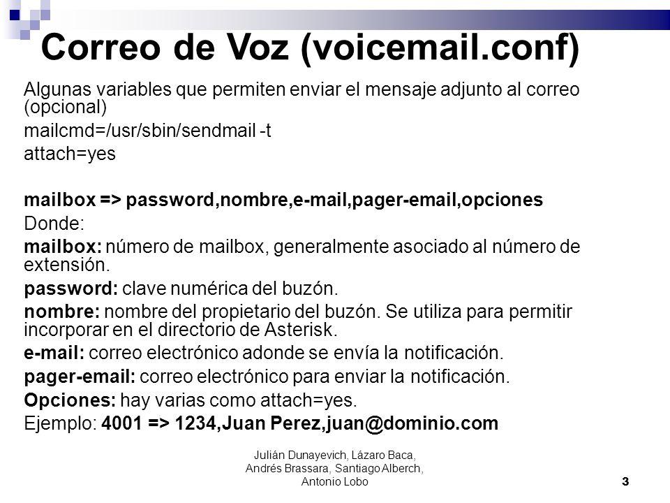 Correo de Voz (voicemail.conf)