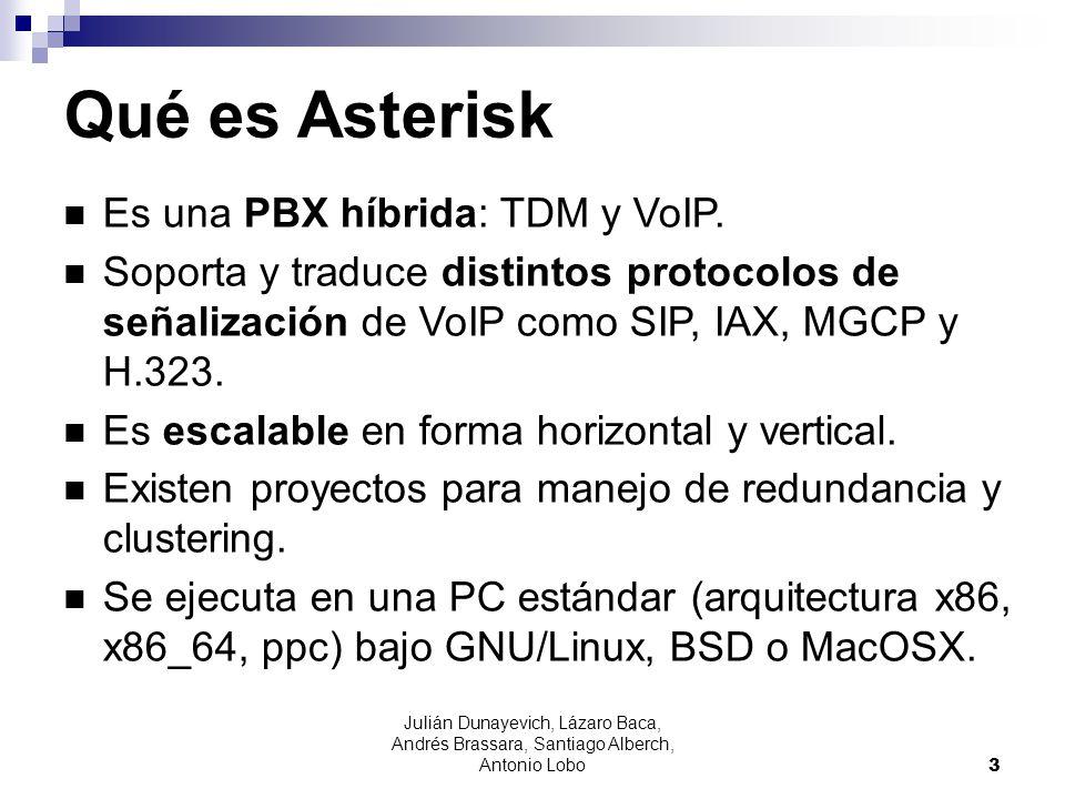 Qué es Asterisk Es una PBX híbrida: TDM y VoIP.
