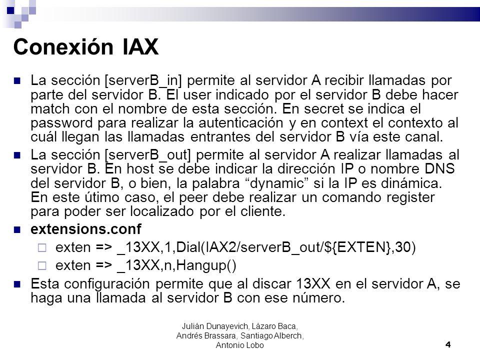 Conexión IAX