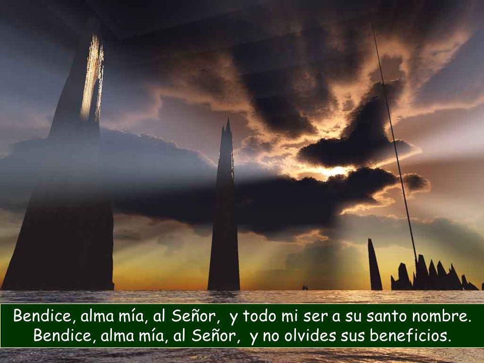 Bendice, alma mía, al Señor, y todo mi ser a su santo nombre