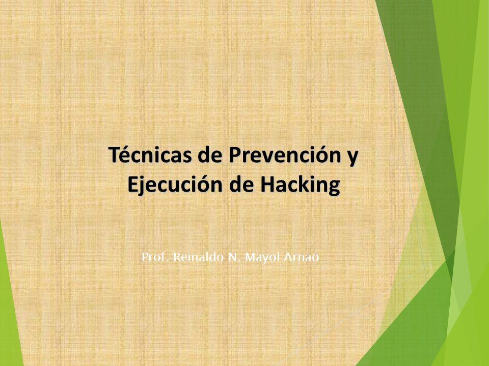 Técnicas de Prevención y