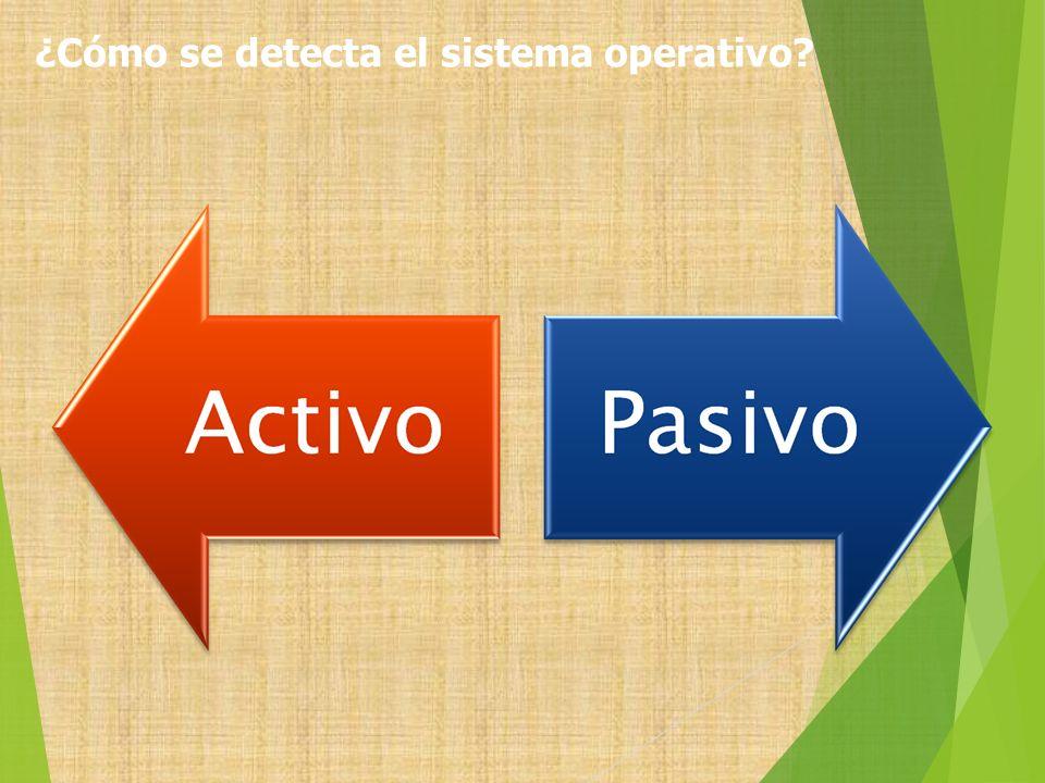 ¿Cómo se detecta el sistema operativo