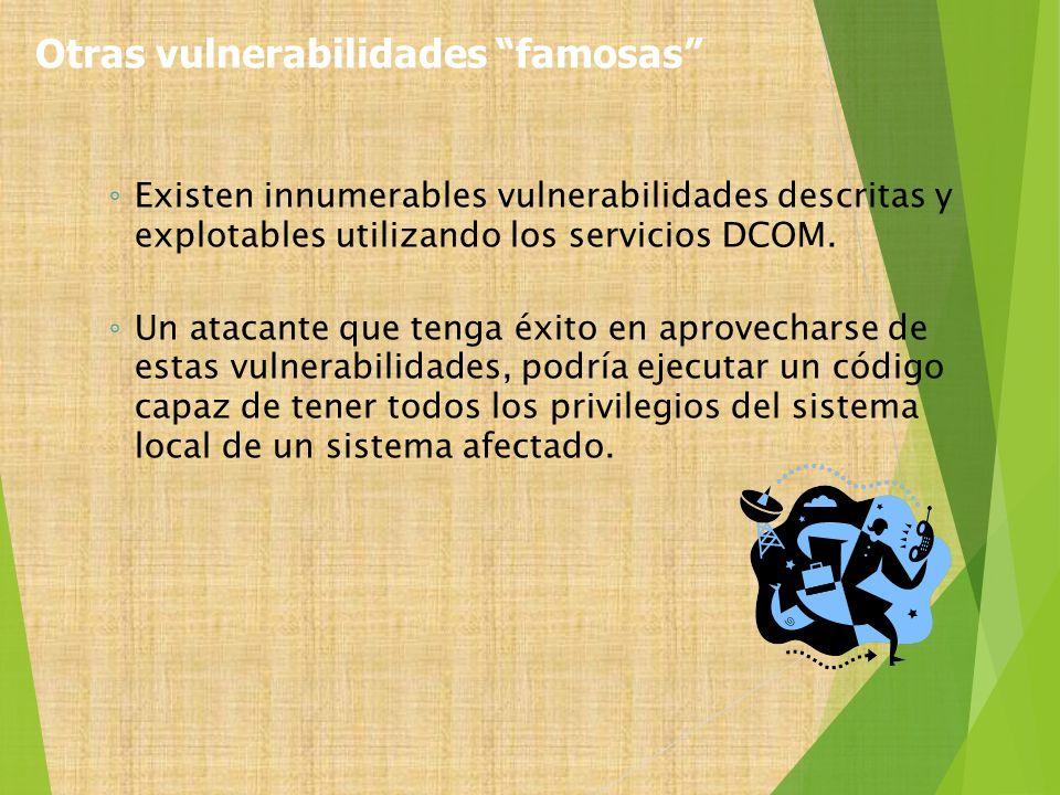 Otras vulnerabilidades famosas