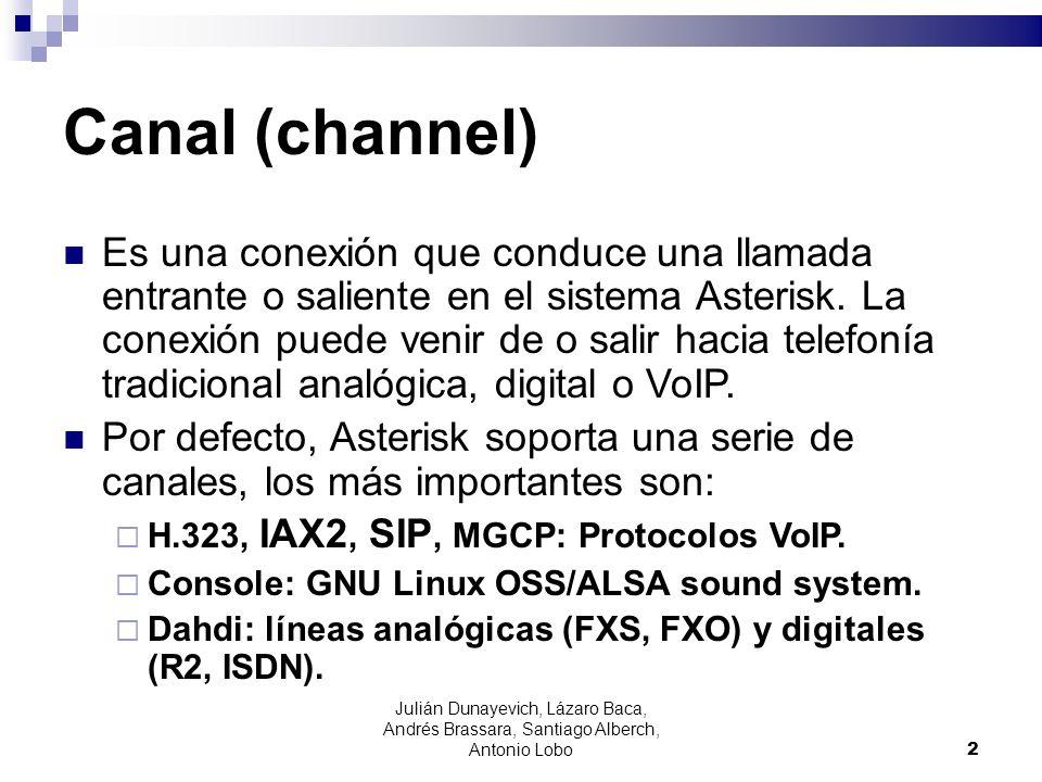 Canal (channel)