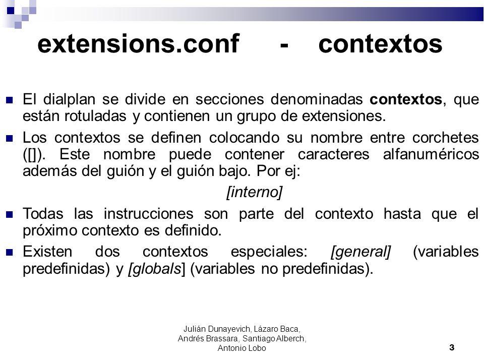 extensions.conf - contextos