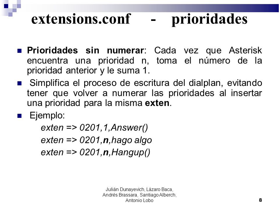 extensions.conf - prioridades