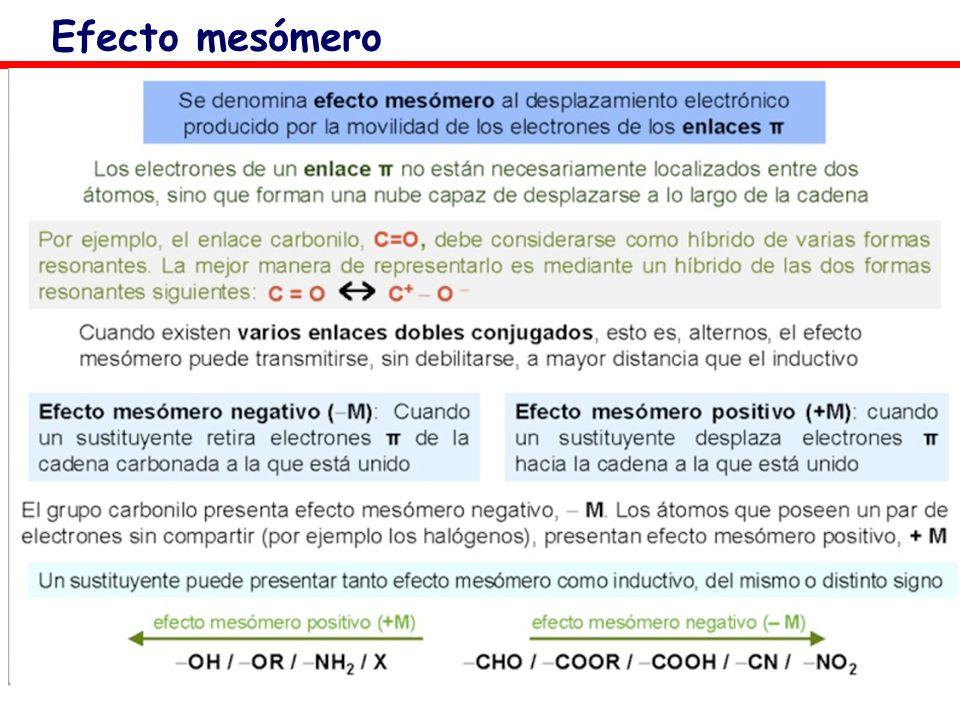 Efecto mesómero