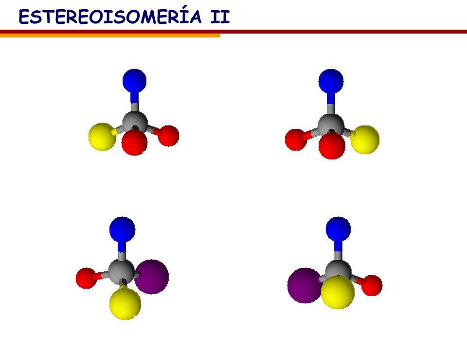 ESTEREOISOMERÍA II