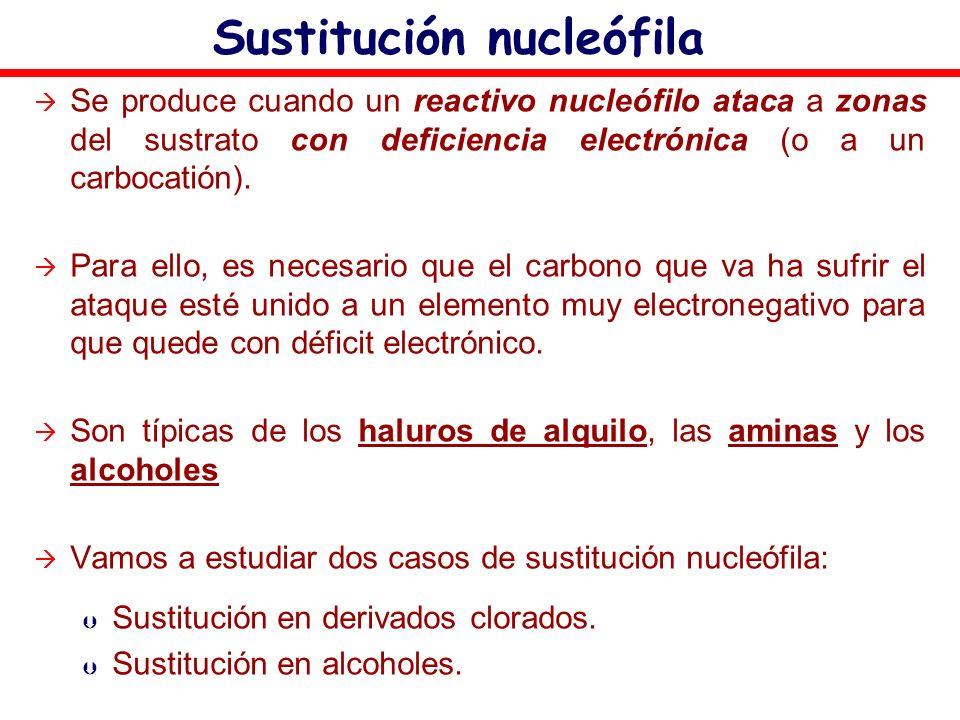 Sustitución nucleófila